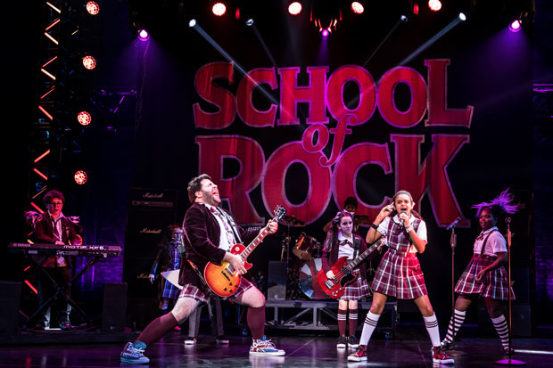 The national tour of School of Rock jams out across the country.