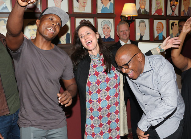 The party never stops at Sardi's.