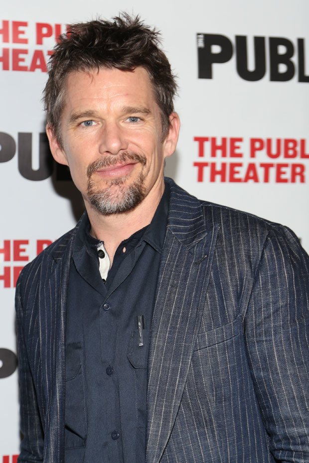 Ethan Hawke directs a reading of The Late Henry Moss, presented tonight at the Lucille Lortel Theatre.