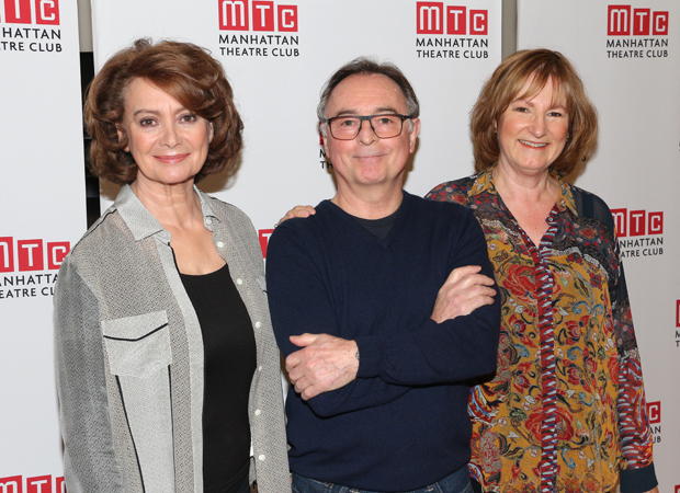 The stars of The Children: Francesca Annis, Ron Cook, and Deborah Findlay.