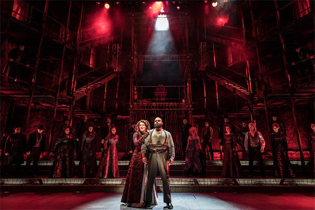 Paramount Theatre's Sweeney Todd took home five Equity Jeff Awards.