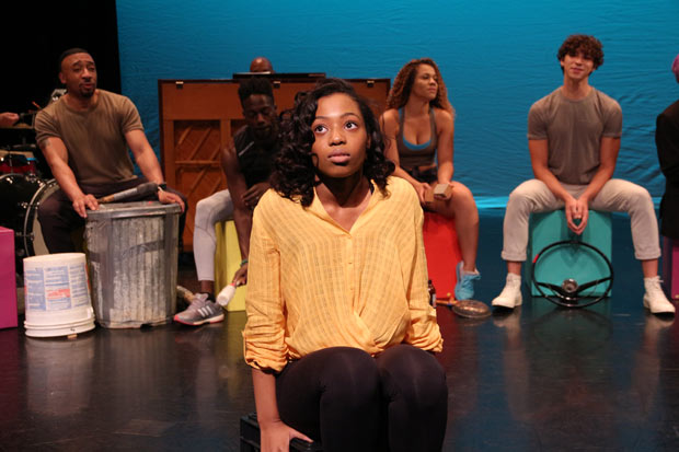 Hailey Kilgore stars as Ti Moune in Michael Arden's Broadway revival of Once on This Island.