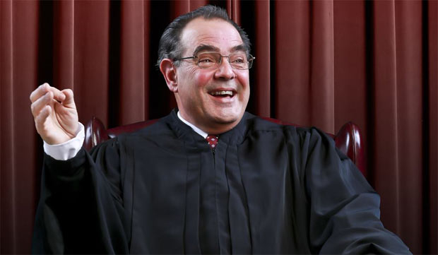 Edward Gero will once again play the late Supreme Court justice Antonin Scalia in the New York engagement of The Originalist at 59E59 Theaters.