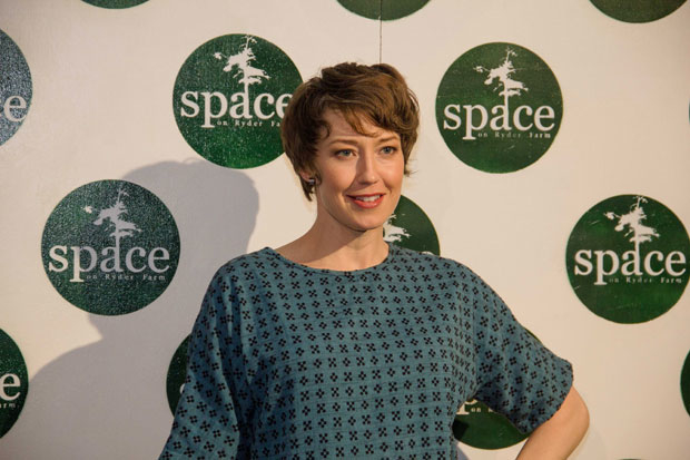 Carrie Coon hosted SPACE on Ryder Farm's second-annual gala at Metropolitan West on November 6.