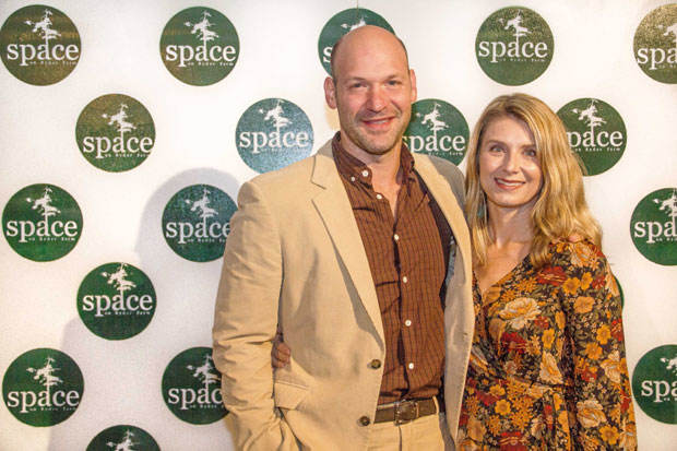 Corey Stoll and Nadia Bowers walked the red carpet.
