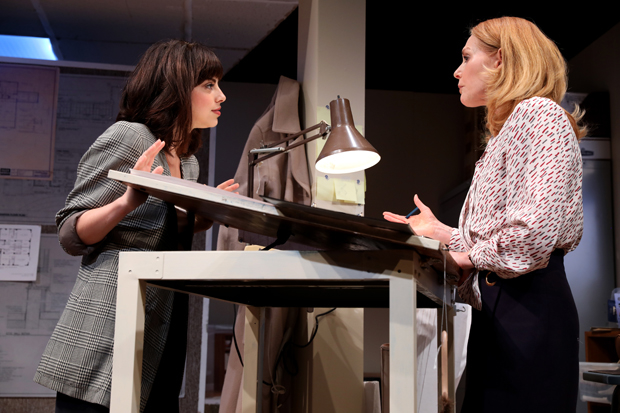 Krysta Rodriguez plays Eliza, and Marg Helgenberger plays Janice in What We're Up Against.