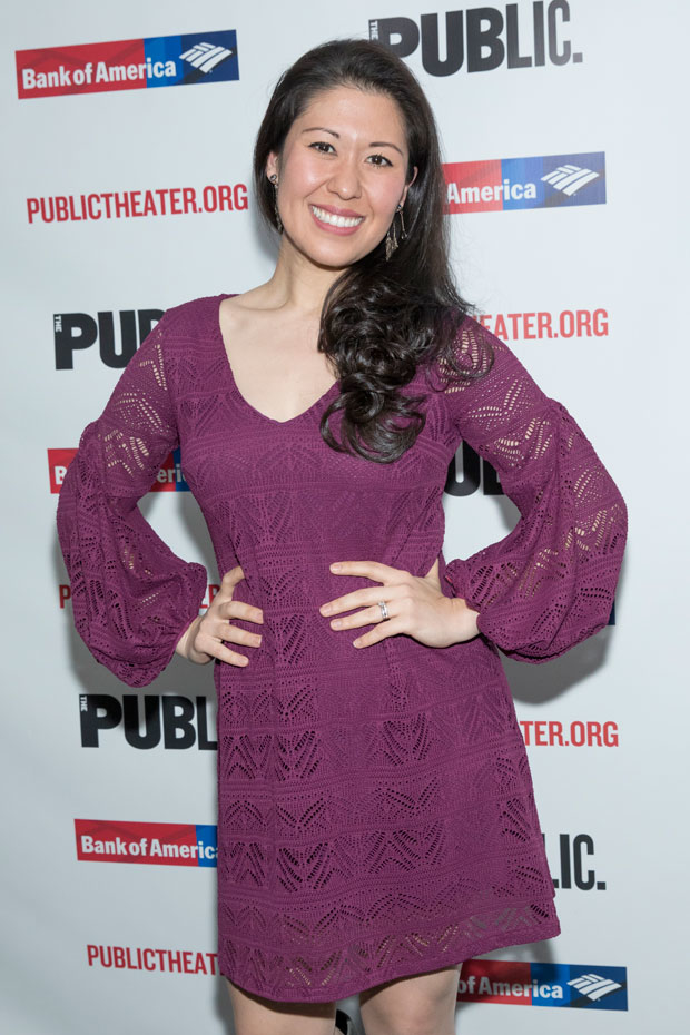 Ruthie Ann Miles was excited for opening night of Office Hour.