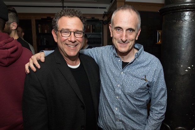 Michael Greif and Neel Keller get together for a photo.