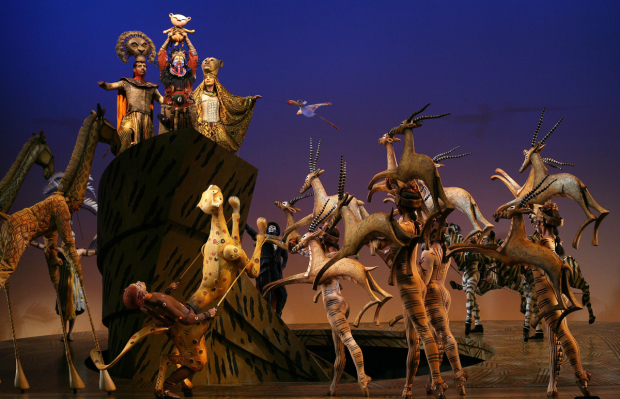A scene from Disney's The Lion King.