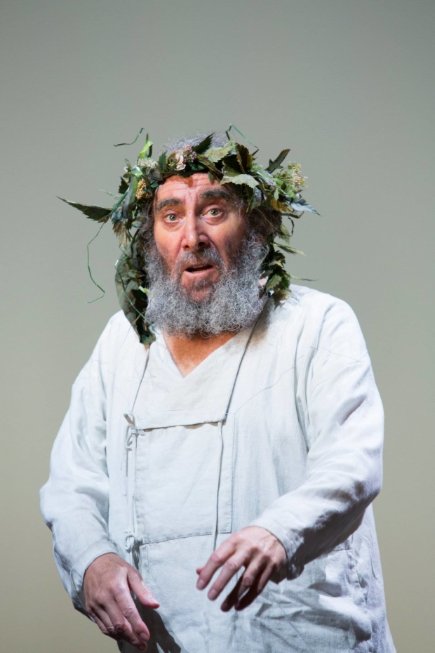 Antony Sher as Lear in the Royal Shakespeare Company's King Lear.