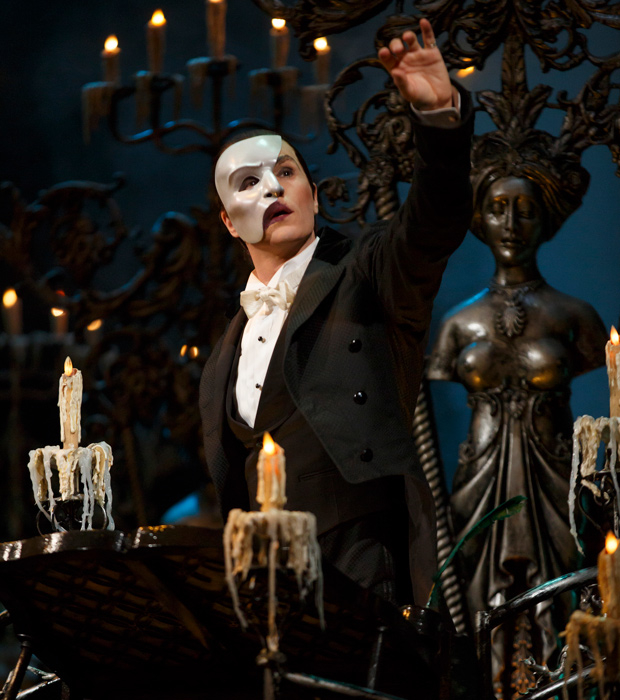 Peter Jöback will return to The Phantom of the Opera on Broadway in time for its 30th anniversary.