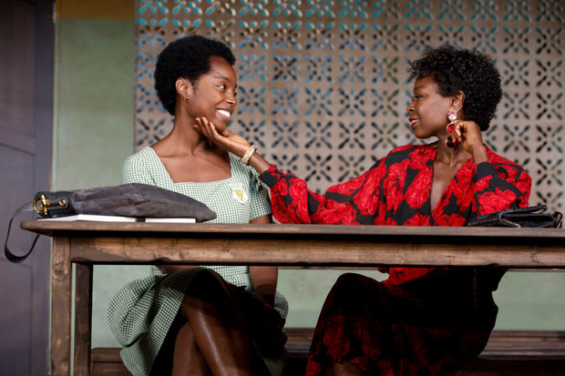 MaameYaa Boafo and Zainab Jah in School Girls; Or, the African Mean Girls Play.