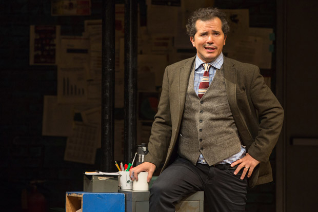 John Leguizamo wrote and stars in Latin History for Morons, directed by Tony Taccone, at Broadway's Studio 54.