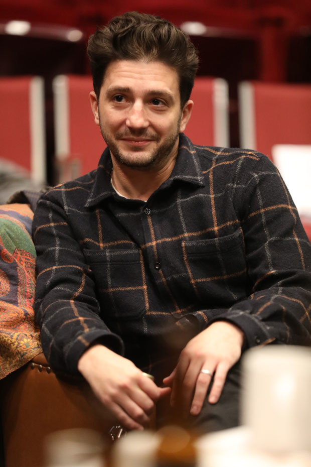 John Magaro stars in Illyria at the Public Theater.