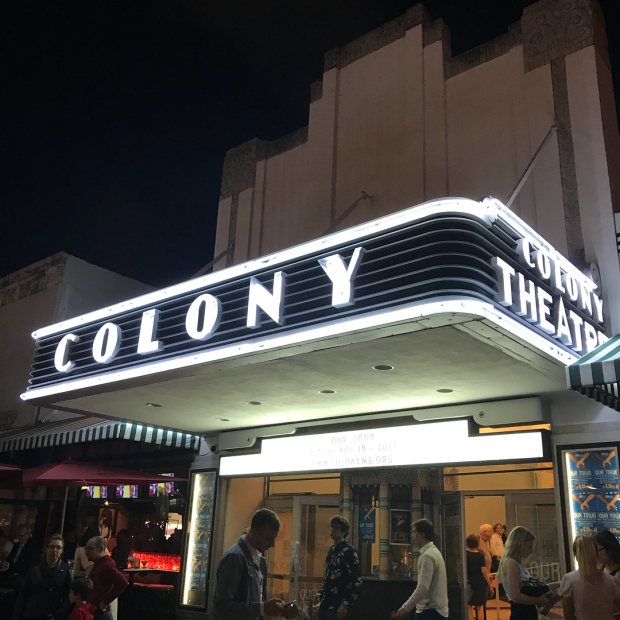 The Colony Theatre in Miami Beach, home to Miami New Drama.