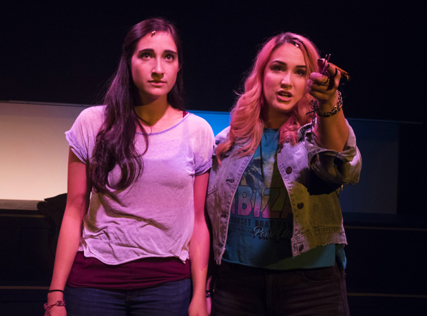 Krystina Alabado and Emma Hunton star in Kait Kerrigan and Brian Lowdermilk's The Mad Ones, directed by Stephen Brackett, for Prospect Theater Company at 59E59.