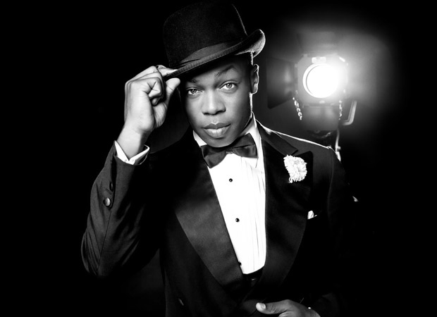 Todrick Hall in a promotional image for Chicago.
