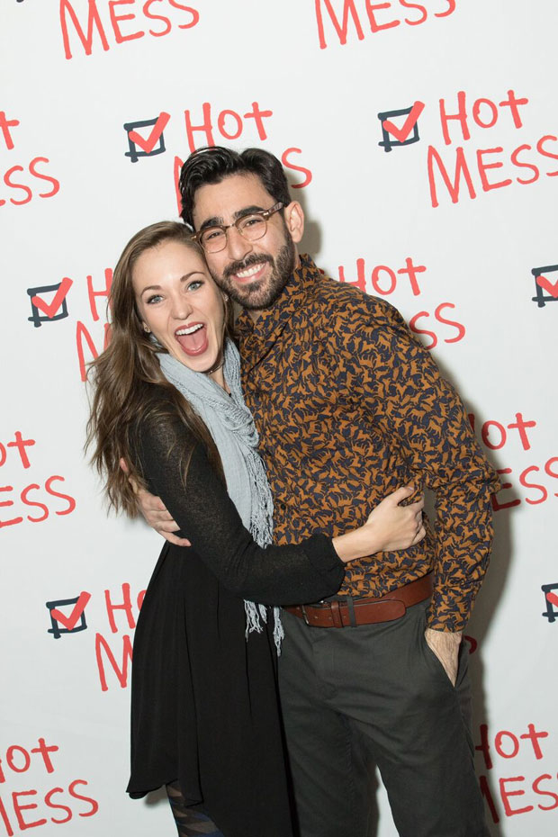 Laura Osnes reunites with her Grease leading man, Max Crumm.
