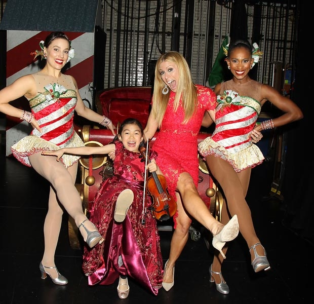 The Christmas Spectacular will play through January 1.