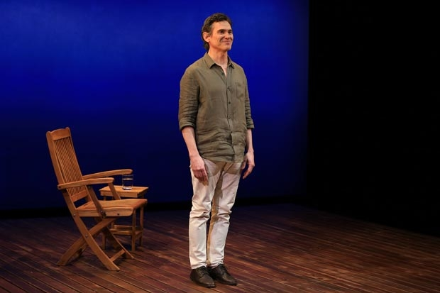 Billy Crudup takes a bow at curtain call on opening night.