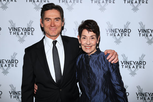 Billy Crudup mad sure to grab a photo with his mother, Georganne Gaither.
