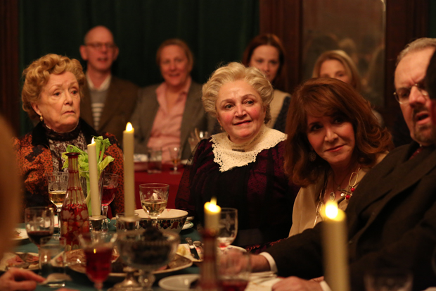 Patricia Kilgarriff and Patti Perkins appeared last year in The Dead, 1904 at the American Irish Historical Society.