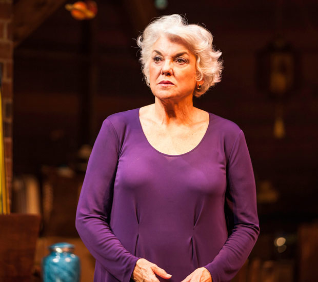 Tyne Daly in Chasing Mem'ries at the Geffen Playhouse.