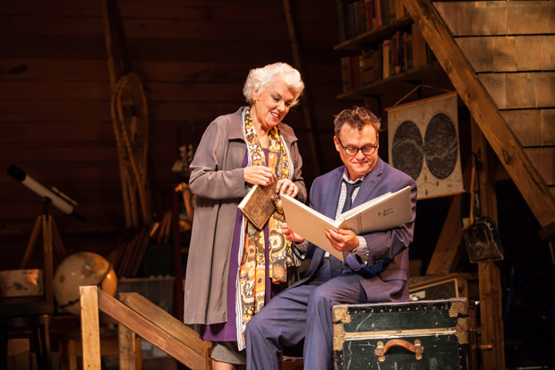 Tyne Daly and Scott Kradolfer Chasing Mem'ries: A Different Kind of Musical, directed by Josh Ravetch at the Geffen Playhouse.
