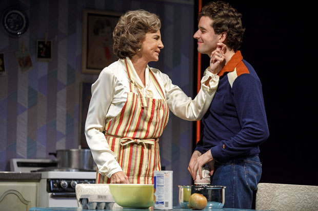 Mercedes Ruehl and Michael Urie star in the off-Broadway revival of Harvey Fierstein's Torch Song.