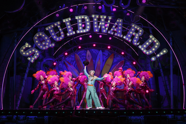 Gavin Lee stars as Squidward in SpongeBob SquarePants on Broadway.