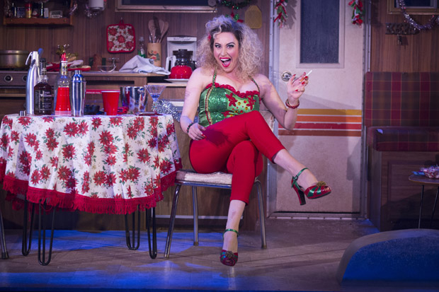 Lesli Margherita stars in Matthew Lombardo's Who's Holiday!, directed by Carl Andress, at the Westside Theatre.