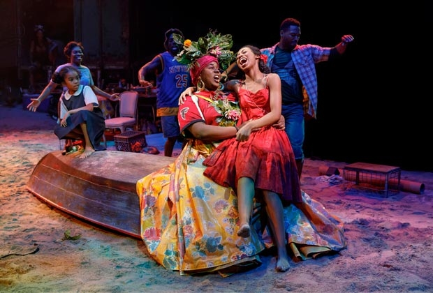 The Broadway revival of Once on This Island, directed by Michael Arden, plays at Circle in the Square Theatre.