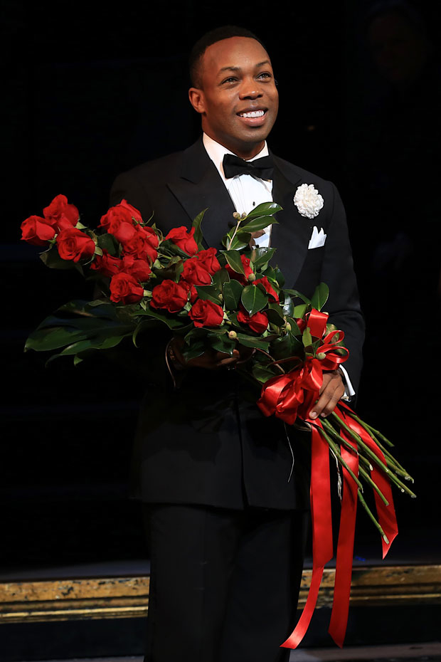 Todrick Hall plays Billy Flynn through January 14, 2018.