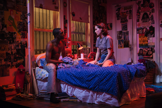 Moise Morancy and Sadie Scott appear in Seth Zvi Rosenfeld's Downtown Race Riot.