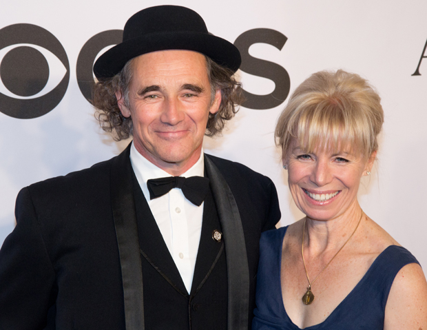 Mark Rylance with Farinelli and the King playwright Claire van Kampen.
