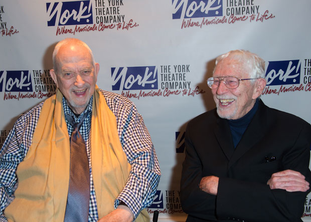 Harvey Schmidt and Tom Jones were honored at the 26th Oscar Hammerstein Award Gala.