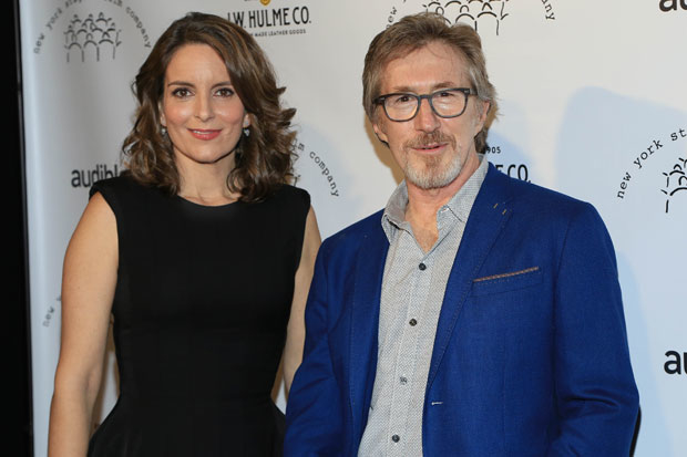 Tine Fey and Don Katz were honored at New York Stage and Film's Winter Gala.