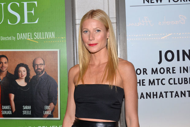 Gwenyth Paltrow is a producer of the upcoming Broadway musical Head Over Heels.