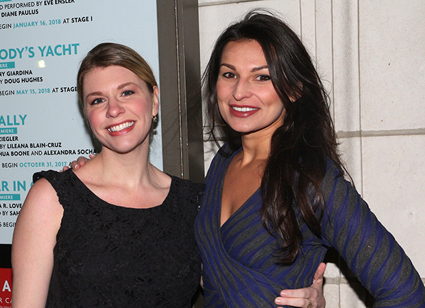 Actress Andrea Syglowski and playwright Martyna Majok are on hand for the show.