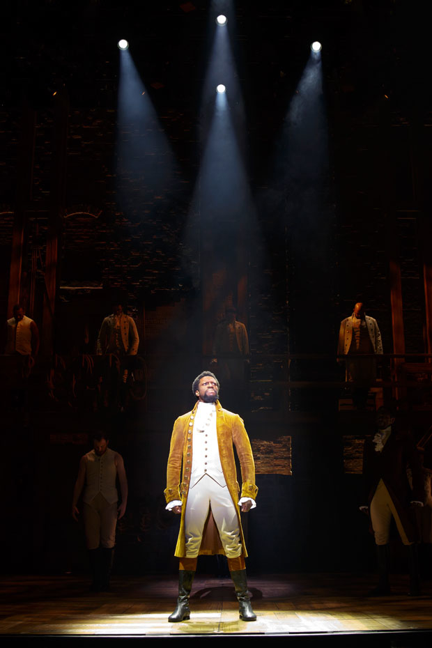 Michael Luwoye will be the next Alexander Hamilton on Broadway.