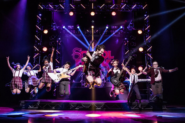The new cat of School of Rock jams out at Broadway's Winter Garden Theatre.