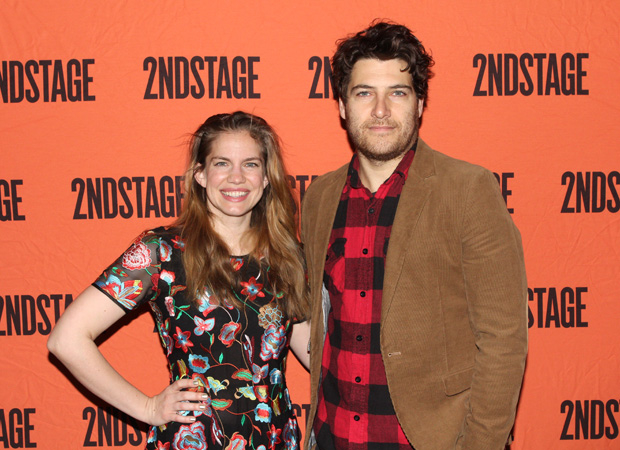 Anna Chlumsky and Adam Pally star in Cardinal, directed by Kate Whoriskey, at Second Stage Theater.