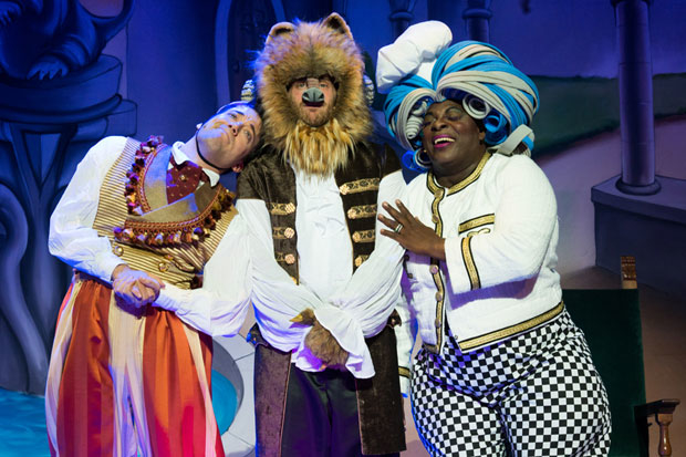 Beauty and the Beast - a Christmas Rose performs through December 24.