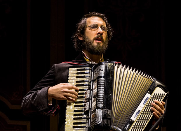 Josh Groban opened the Broadway production of Natasha, Pierre & The Great Comet of 1812 on Broadway.