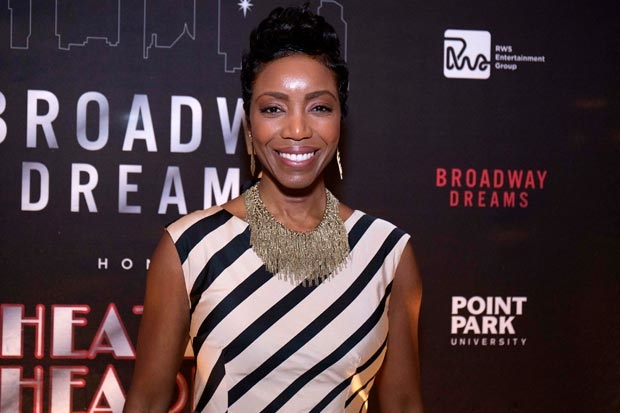 Heather Headley was honored at the 10th annual Broadway Dreams Supper.