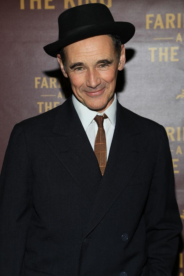 Tony and Oscar winner Mark Rylance stars in Farinelli and the King, directed by John Dove, at the Belasco Theatre.