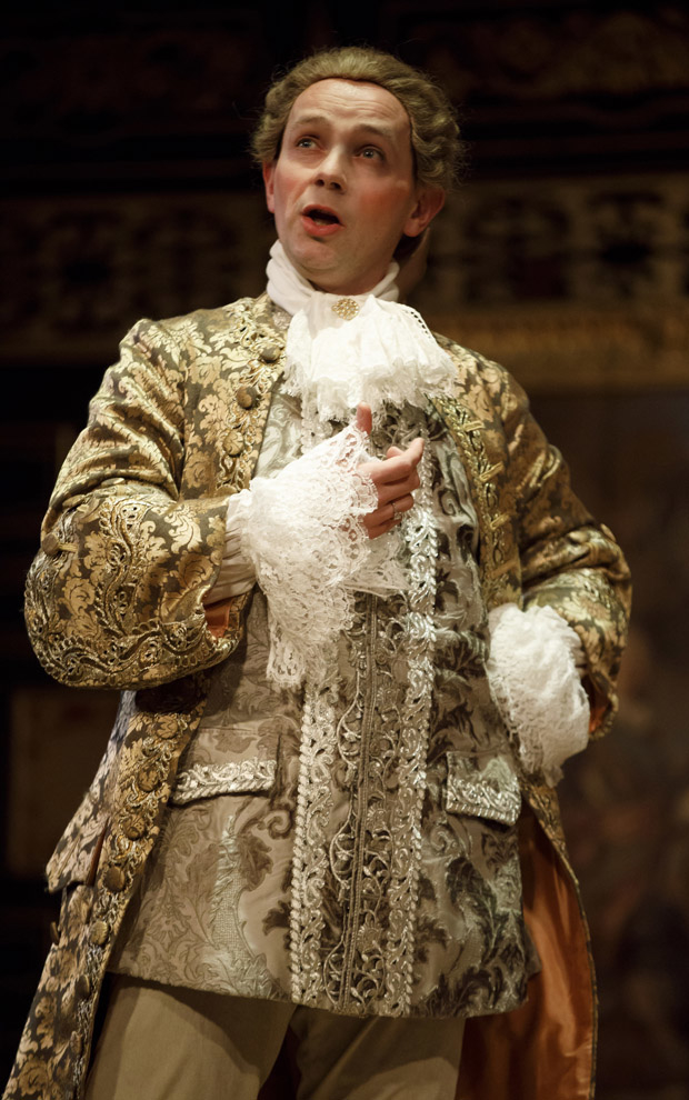 Iestyn Davies in Farinelli and the King.