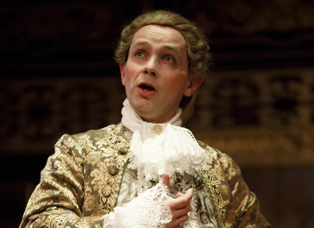 Iestyn Davies as Farinelli in Farinelli and the King.