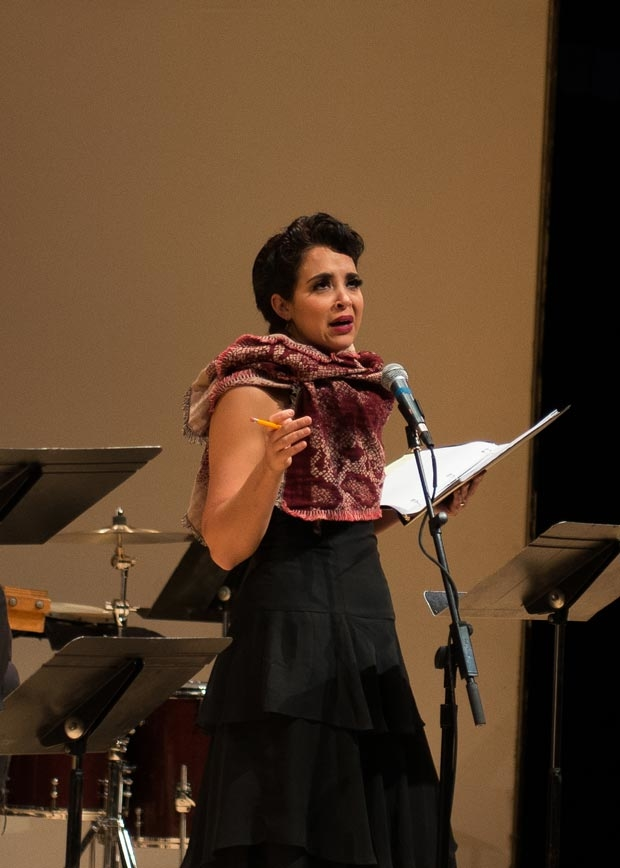 Alexandra Silber starred in Transport Group's benefit concert reading of Man of La Mancha.