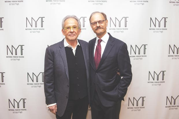 Tony winners Ron Rifkin David Hyde Pierce participated in the evening.